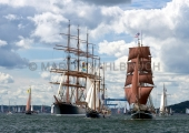 Windjammerparaden Kiel - Sedov und - Eye of the Wind - andere 4