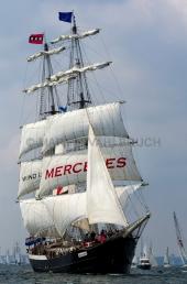Windjammerparaden Kiel - Mercedes 8