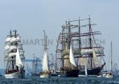 Windjammerparaden Kiel - Aphrodite - Ella - Thalassa - Sedov