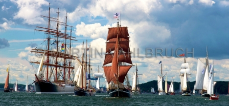 Windjammerparaden Kiel - Sedov und - Eve of the Wind - andere 1
