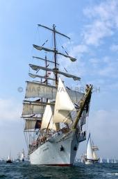Windjammerparaden Kiel - Dar Mlodziezy 6