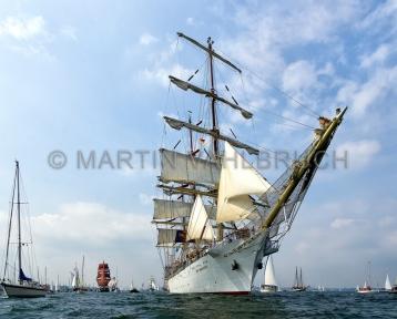 Windjammerparaden Kiel - Dar Mlodziezy 3
