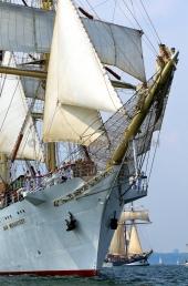 Windjammerparaden Kiel - Dar Mlodziezy 8