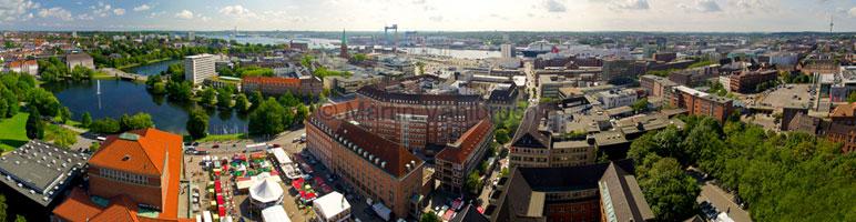 Panorama Kiel