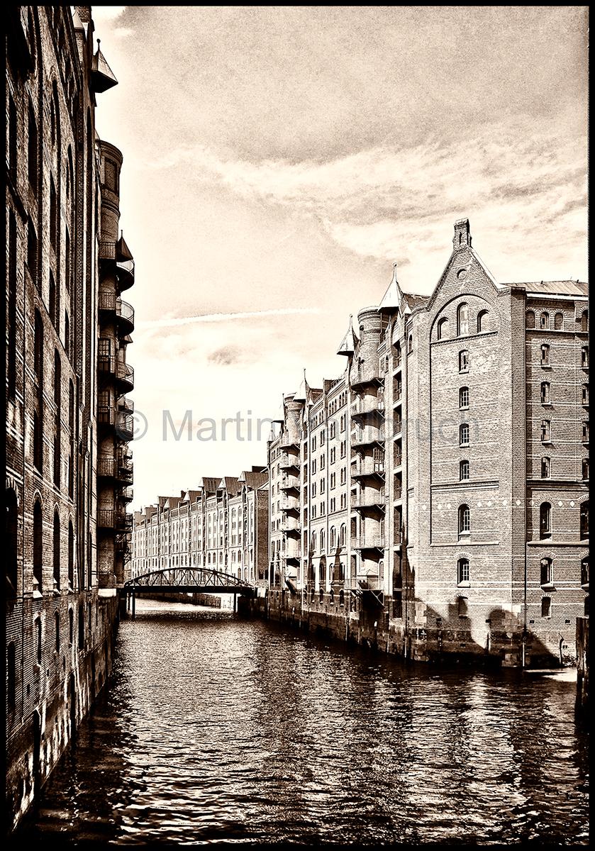 Speicherstadt Hamburg vintage